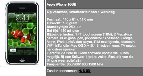 iPhone kopen bij Phoneshop