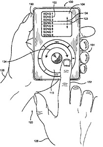 iPod Scroll Wheel patent