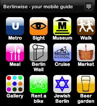 Berlinwise, reisgids voor je iPhone