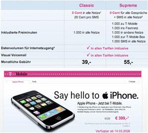 iPhone gelanceerd in oostenrijk