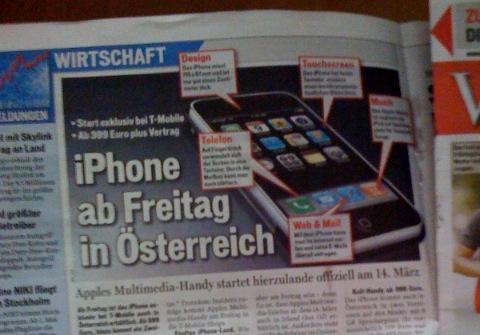 iPhone Oostenrijk