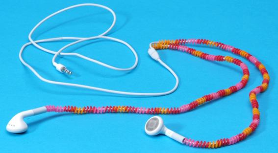 Curly Beads, kralen voor oordopjessnoer