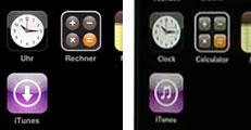 Nieuwe iconen voor iTunes WiFi Store en Calculator