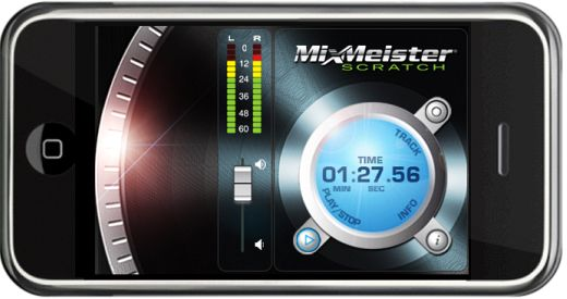 MixMeister iPhone interface