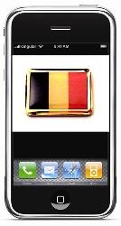 iPhone Belgie in mei