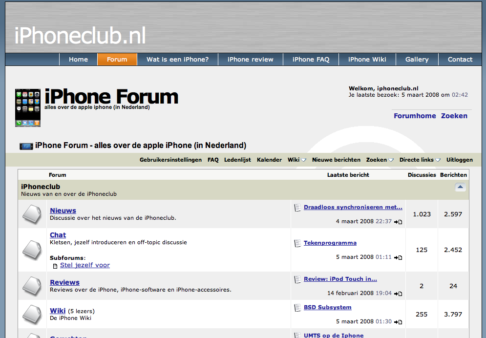 iPhone Forum