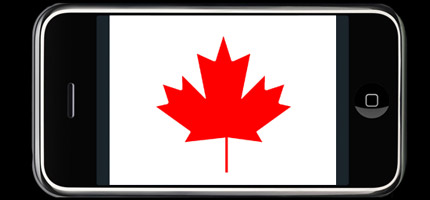 iPhone in Canada via Rogers