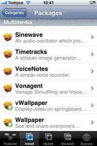 vWallpaper in Installer.app
