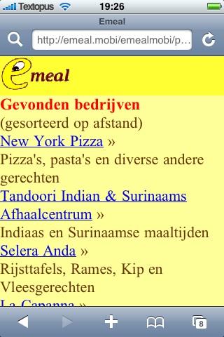 Eten bestellen