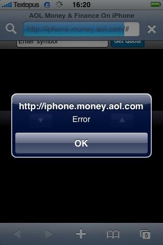 AOL Money & Finance