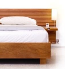 iPod bed met dock