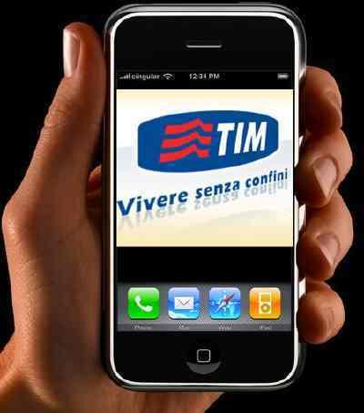 iPhone Italie TIM