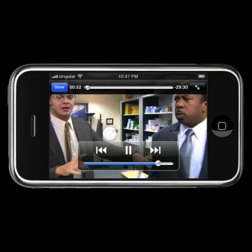 iPhone video kijken, draadloze netwerken lopen vast