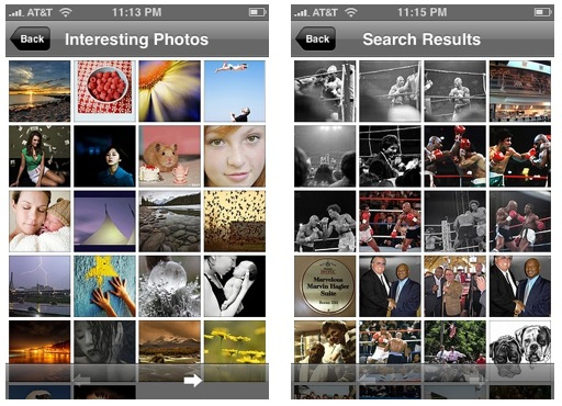 Flickr Mobile