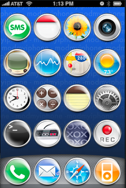 iPhone wallpaper en icons