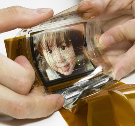 Sony OLED flexibel