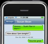 iPhone SMS en Voicemail