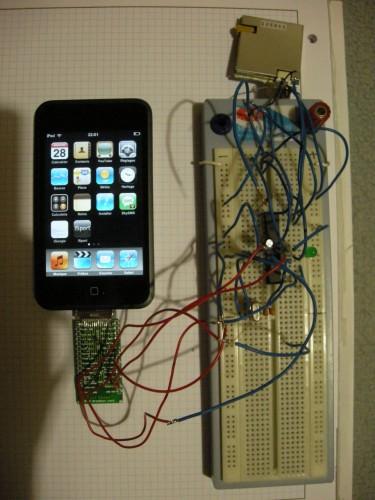 xGPS voor de iPhone - Prototype