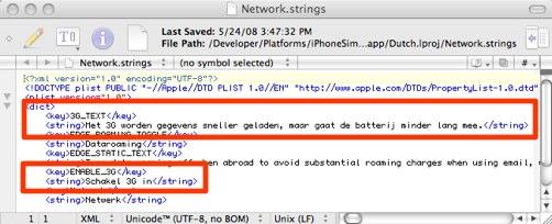 3G settings NL