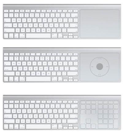 Apple TV Multitouch Keyboard