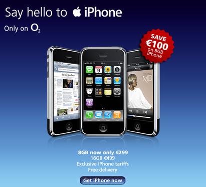 iPhone Ierland korting