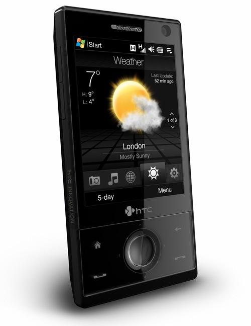 HTC Touch Diamond voorzijde