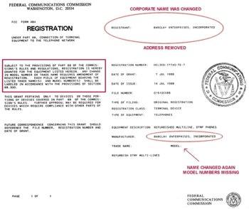 FCC Formulier