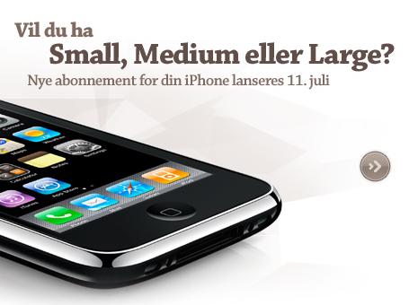 iPhone Noorwegen Netcom
