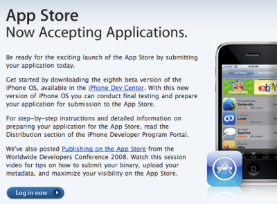 App Store open for business