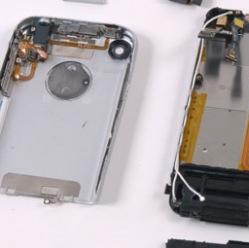 Productie iPhone componenten