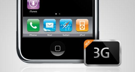 iPhone 3G via SoftBank in Japan
