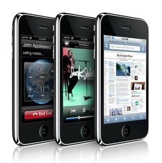 iPhone 3G weekoverzicht