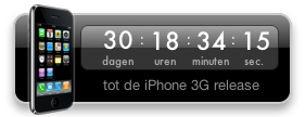 iPhone 3G Countdown