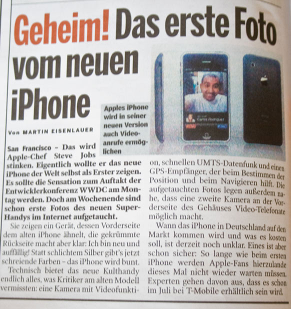 Bild iPhone