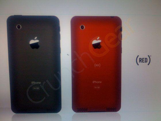 iPhone 2.0 foto\'s Crunchgear