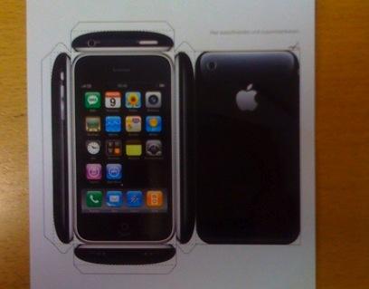iPhone bouwplaat