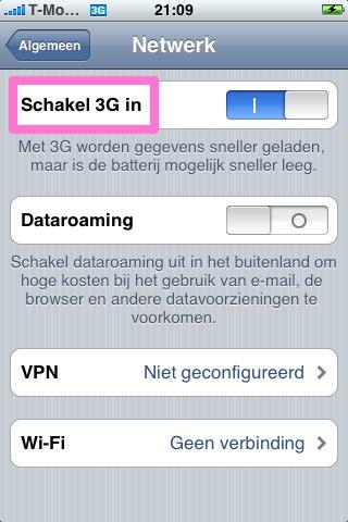 3G schakelaar