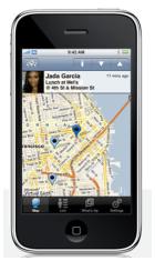 Locatiebepaling iPhone 3G