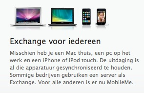 Mobile Me Exchange