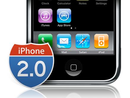 iPhone 2.0 software update