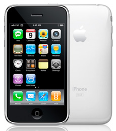 Witte iPhone 16GB