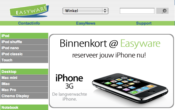 iPhone Easyware