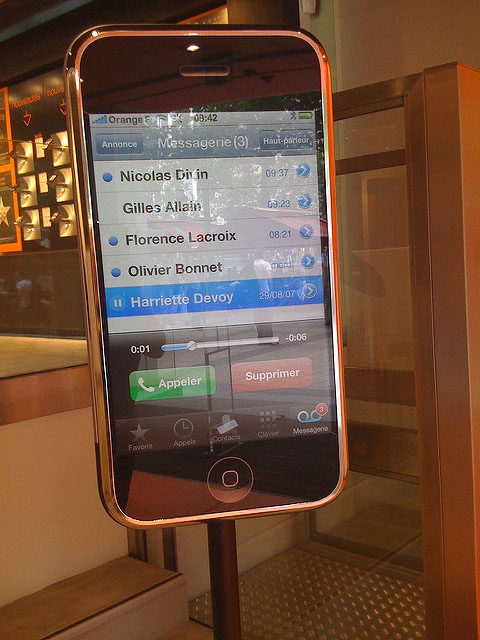 iPhone 3G reviewfoto's