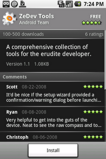 android market feedback