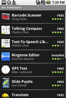 android market downloads