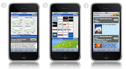 Mobistar iphone-portal