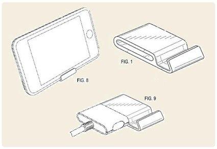iphone dock patent