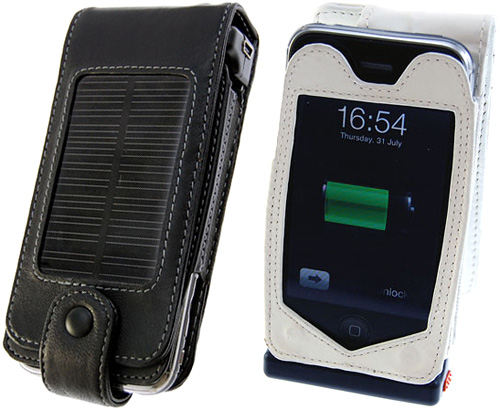 iPhone 3G Solar Charging Case