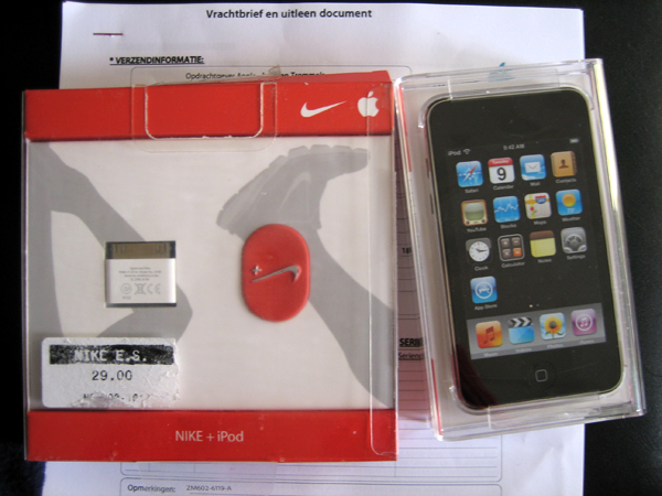 iPod touch Nike +