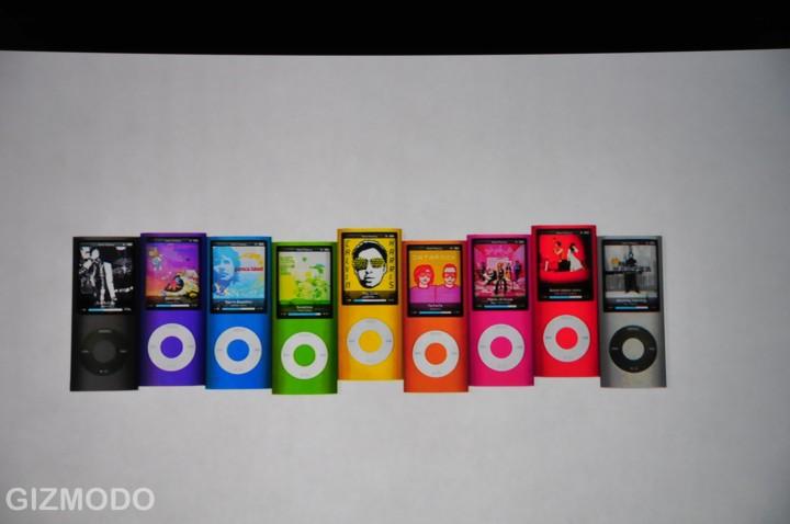 iPod nano 4G - verschillende kleuren